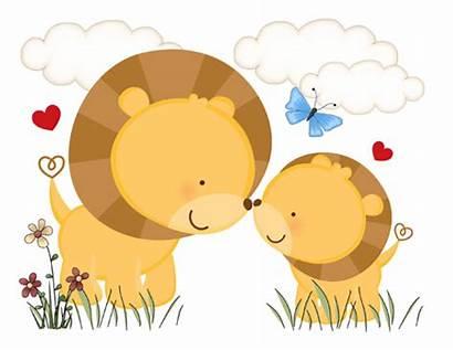 Lion Clipart Nursery Clip Jungle Boy Cub