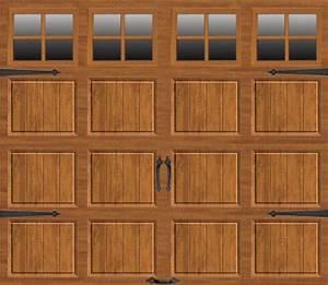 ideal doorr 9 ft x 7 ft medium oak steel carriage house With 9 x 7 steel garage door