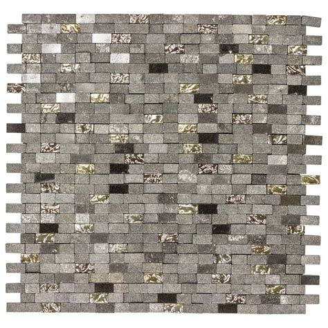 Jeffrey Court Mystical Mini Brick 1275 in x 12125 in x