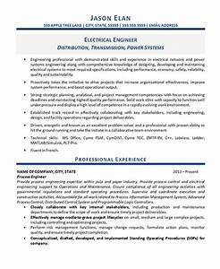 electrical engineer resume example With sample resume of an electrical engineer