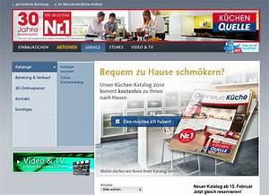 Küchen Quelle Katalog Bestellen : k chen quelle mit druckfrischem katalog zu neuem leben ~ Markanthonyermac.com Haus und Dekorationen