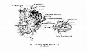 I Need The Vacuum Hose Schematics For A 1977 Ford Pinto