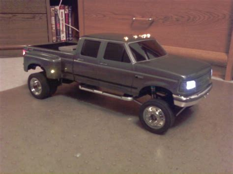 My Custom Ford 4dr Dually 4x4 Rc Truck And Construction