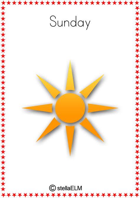flashcards days   week stellaelm