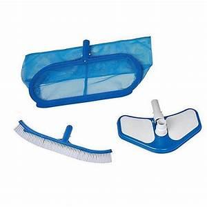 Kit Entretien Piscine Gonflable : kit de nettoyage pour piscine intex deluxe ~ Voncanada.com Idées de Décoration