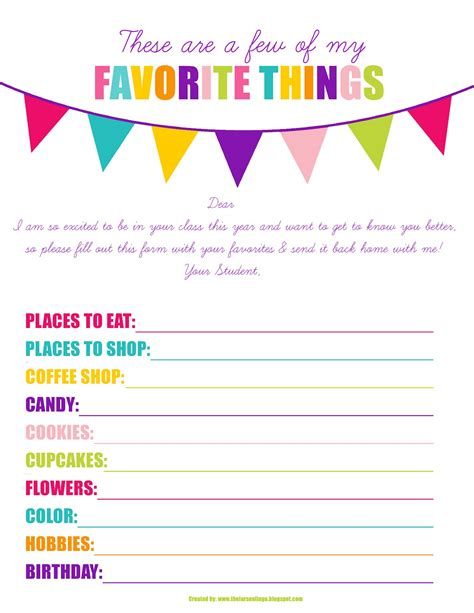 printable gift exchange questionnaire    print