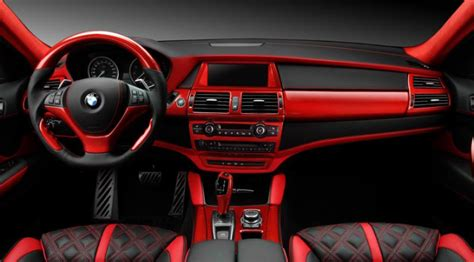 Crazy Interior For Bmw X6 From Topcar