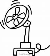 Fan Electric Clipart Template Coloring Pages Templates Sketch sketch template
