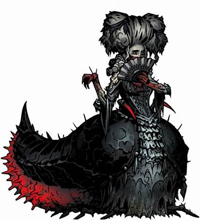 Countess Darkest Monster Dungeon Horror Characters Courtyard