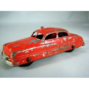 tootsietoy  mercury fire chief car global diecast direct
