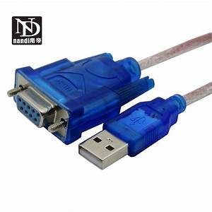 Usb Rs232 Adapter Usb To Rs232 Serial Cable Female Port