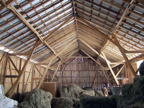 Amish Barn by Building A Community Building A Barn Small Farmer S Journal