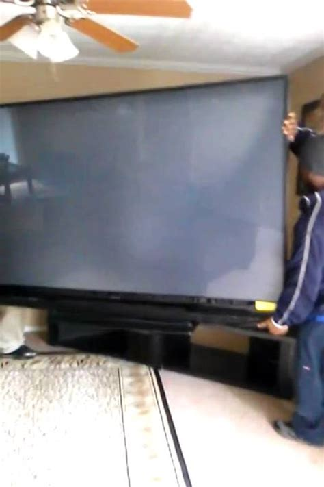 Mitsubishi 92 Tv by 92 Inch Tv Gettin Moved