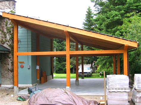 pictures  small post  beam structure post  beam carport tree houses pinterest