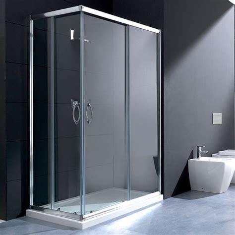 cabina doccia 120x70 box doccia cristallo rettangolare 70x120 scorrevole