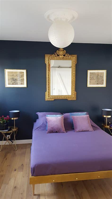 refaire une chambre amazing relooking mur foncchambre bleu bleu paonhome with