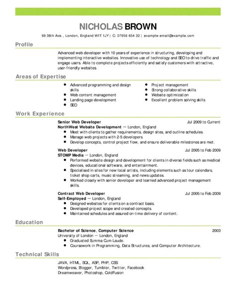 sas data analyst resume exle best resume