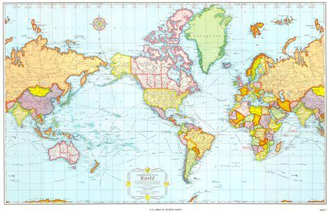 El mapamundi es distinto para cada país - Geografía Infinita
