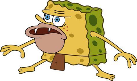 Spongegar/Primitive Sponge/Caveman Spongebob Meme