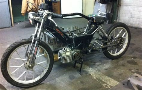 custom stretched puch maxi pic heavy moped army