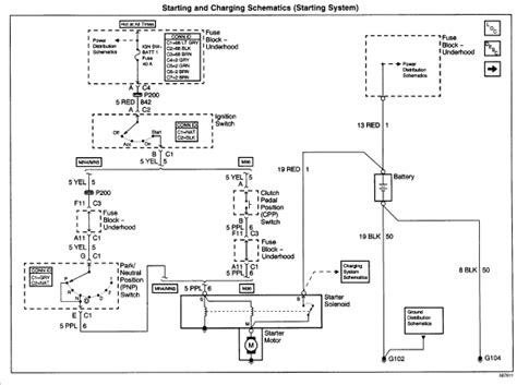 Starter Wire Diagram 2001 Alero by My Owns A 2001 Oldsmobile Alero 165 000