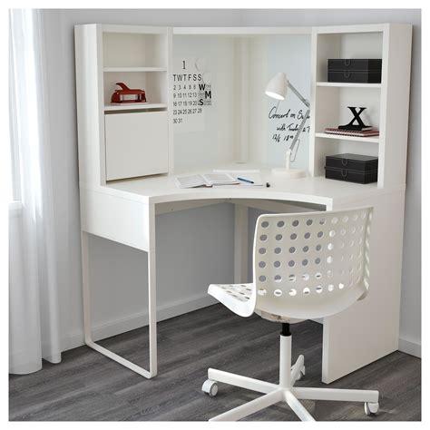 ikea micke bureau micke corner workstation white 100x142 cm ikea