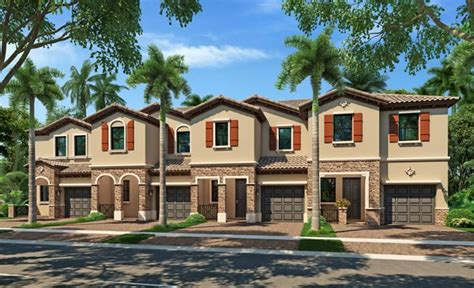 New Homes In Miami Gardens gardens by the hammocks townhomes new home community