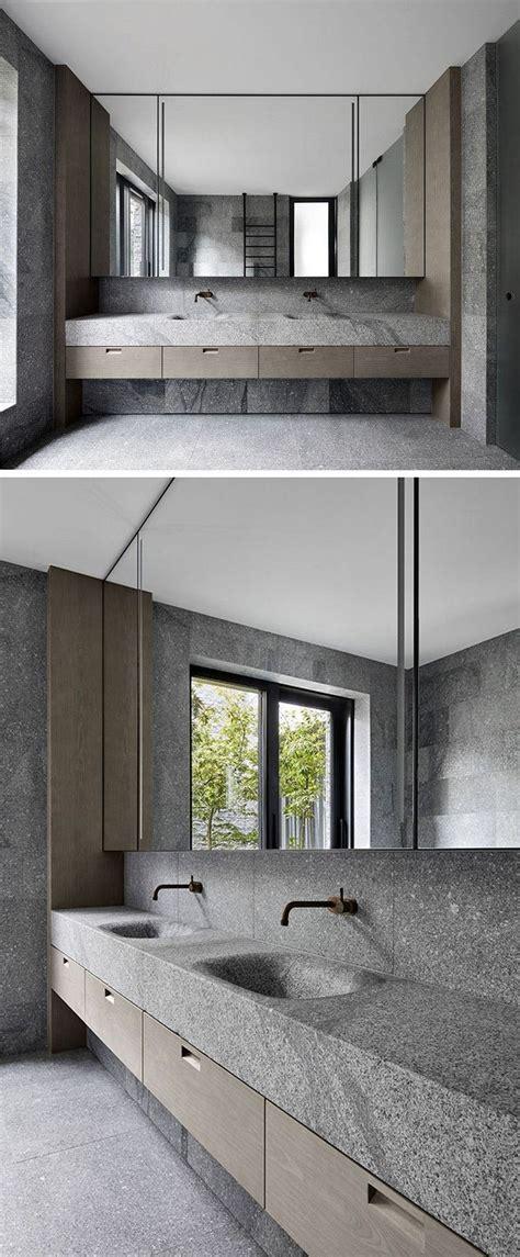 Badezimmer Modern Naturstein by Bad Design Granit Waschtisch Naturstein Modern