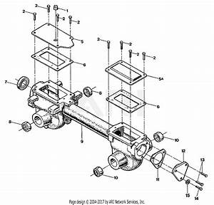 Troy Bilt 12214 Bronco 5 5hp Tiller Parts Diagram For