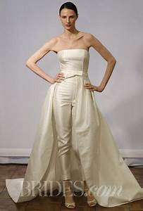 spring 2014 modern wedding dresses from vera wang monique With dress pants for wedding