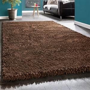 Shaggy Hochflor Teppich : shaggy xxl braun hochflor teppiche ~ Markanthonyermac.com Haus und Dekorationen