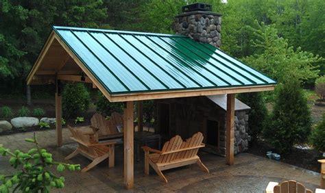 backyard patio roof ideas outdoor pavillion traditional patio minneapolis by absoversa llc