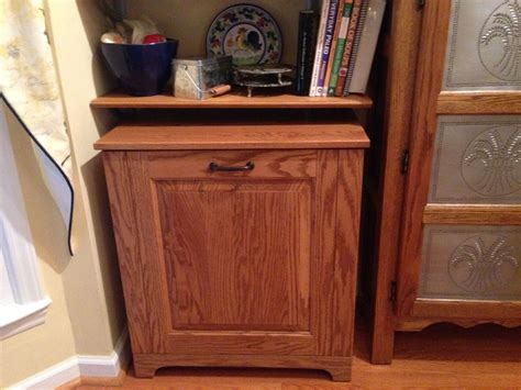 Customize Your Kitchen Cabinet With Tilt Out Trash