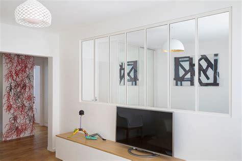 peinture cuisine moderne verrière sur mesure de style atelier d 39 artiste d 39 intérieur