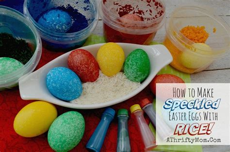 mess  easter eggs   dry rice  food