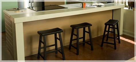 add  breakfast barextend  counterspace   easy  build wooden bar diys
