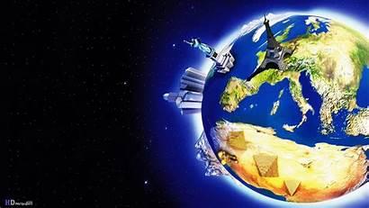 Map Desktop 3d Space Wallpapersafari