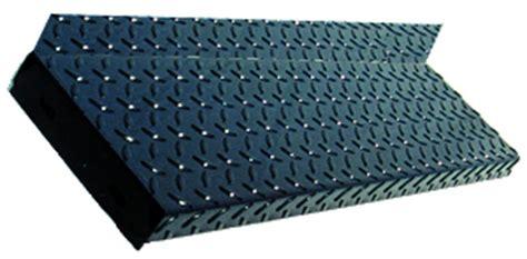 Diamond Plate Steel Stair Treads, Galvanized Stair Treads