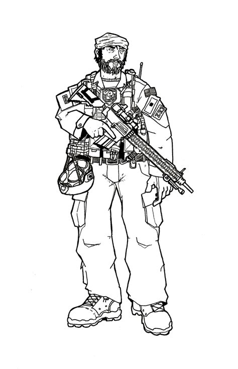 army skull coloring pages
