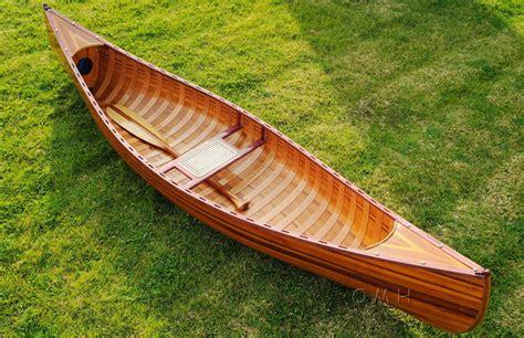 Canoe Boat Ebay by Large Display Cedar Canoe Assembled 10 Built Wooden
