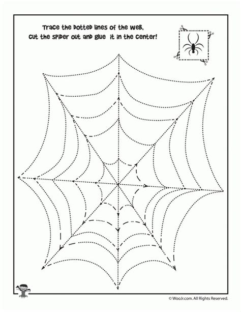 web tracing activity    images halloween