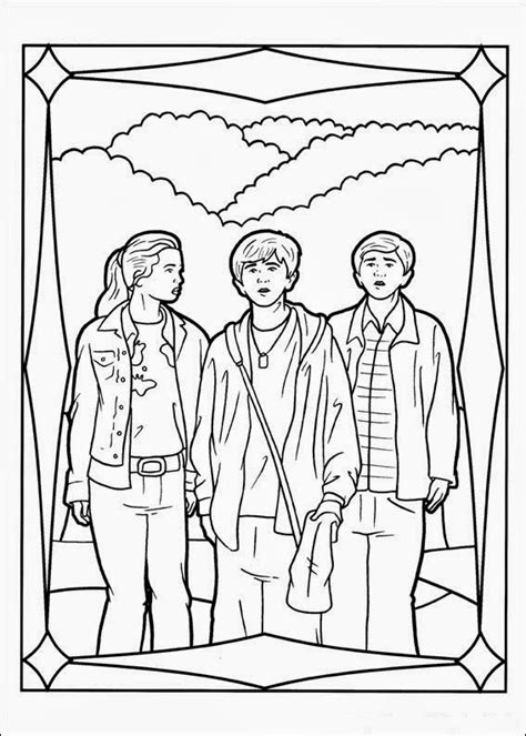 fun coloring pages  spiderwick chronicles coloring pages