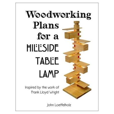 woodwork taliesin lamp plans  plans
