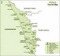 Map  Kerala Touris...