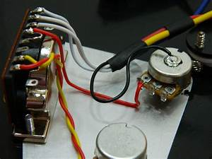 Ironstone Electric Guitar Pickup Wiring