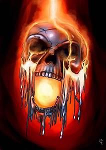 Coole Feuerwehr Hintergrundbilder : pin von dani kern auf skulls n flames pinterest skull art skull und skull wallpaper ~ Buech-reservation.com Haus und Dekorationen