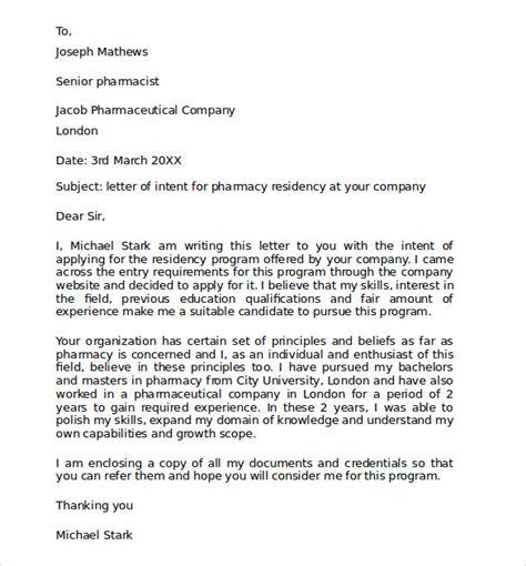 residency application letter  intent  medical