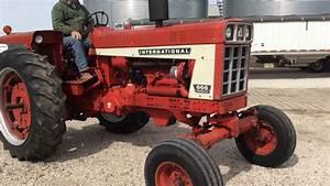 Ih 666 Diesel Tractor