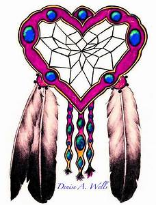 Dreamcatcher And Eagle Feathers Tattoo Design by Denise ...