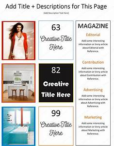 how to make a magazine using microsoftr word dotxes With magazine template for microsoft word
